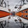 Newlyn Boat Reflection © Jenny Goodman