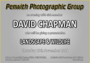 Members Evening - David Chapman @ Ludgvan Community Centre | Ludgvan | United Kingdom