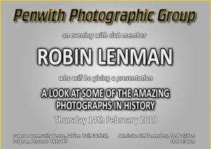 Members Evening - Robin Lenman @ Ludgvan Community Centre | Ludgvan | United Kingdom