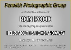 PPG - MEMBERS EVENING - Ron Rook @ Ludgvan Community Centre | Ludgvan | United Kingdom