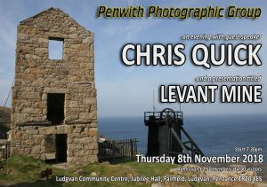 GUEST SPEAKER - Chris Quick @ Ludgvan Community Centre | Ludgvan | United Kingdom