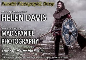 GUEST SPEAKER- Mad Spaniel Photography @ Ludgvan Community Centre | Ludgvan | United Kingdom