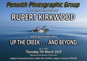 GUEST SPEAKER - Rupert Kirkwood @ Ludgvan Community Centre | Ludgvan | United Kingdom