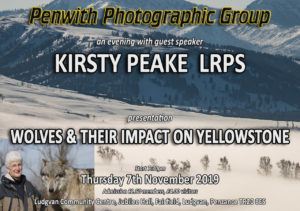 PPG Meeting - GUEST SPEAKER Kirsty Peake LRPS @ Ludgvan Community Centre | Ludgvan | United Kingdom
