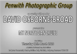 PPG Meeting - SPEAKER David Osborne-Broad @ Ludgvan Community Centre | Ludgvan | United Kingdom