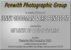 PPG Meeting - SPEAKERS Jenny Goodman and Eric Pentecost @ Ludgvan Community Centre | Ludgvan | United Kingdom
