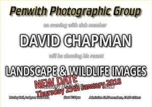 Members Evening - David Chapman @ Murley Hall | Ludgvan | United Kingdom