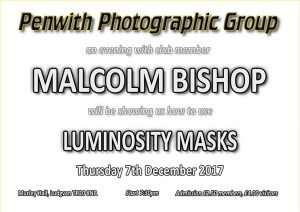 Members Evening - Malcolm Bishop @ Murley Hall | Ludgvan | United Kingdom