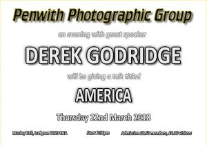 Guest Speaker - Derek Godridge @ Murley Hall | Ludgvan | United Kingdom