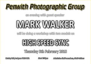 Workshop - Mark Walker on HSS @ Murley Hall | Ludgvan | United Kingdom