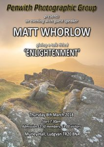 Guest Speaker - Matt Whorlow @ Murley Hall | Ludgvan | United Kingdom