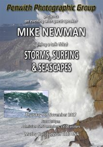 Guest Speaker - Mike Newman @ Murley Hall | Ludgvan | United Kingdom